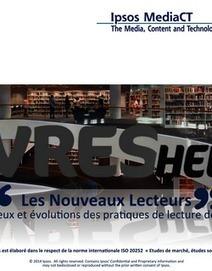 Les Nouveaux Lecteurs : étude Ipsos | L'édition en numérique | Scoop.it