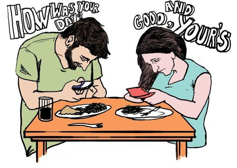 Are you texting during dinner? Toby Daniels on our constant connectivity and the need to stay human - Social Media Week | Digital-News on Scoop.it today | Scoop.it