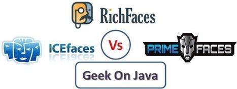 PrimeFaces vs RichFaces vs IceFaces in JSF | Desarrollo WEB | Scoop.it