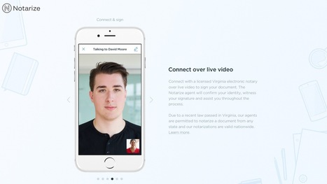 Notarize app turns your iPhone into a convenient, licensed notary using live video | Macwidgets..some mac news clips | Scoop.it