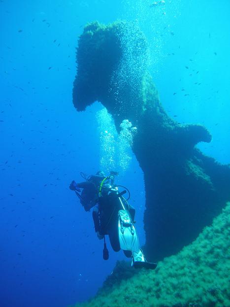 Diving off Capo Carbonara, Sardinia | ewa-marine | Scoop.it