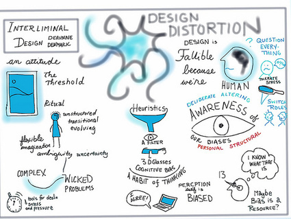"2013/10/10 11:00 ""Interliminal Design: Mitigating Cognitive Bias-Induced Design Distortion"" | DeAunne Denmark | Relating Systems Thinking & Design 2013 | 'New Science' Leadership & Social Innovation | Scoop.it"