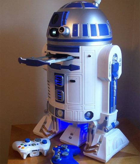 R2-D2 Multi-Console Game System Surfaces : MOD2-D2 | All Geeks | Scoop.it