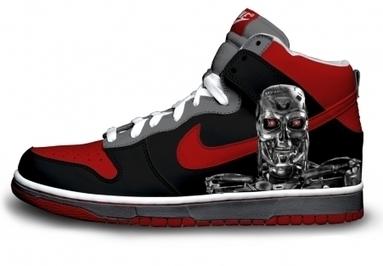 9dba6a02523f Terminator Shoes Comic Nike Dunk  comic-dunks-1026  -  87.00   DC Comic  Dunks