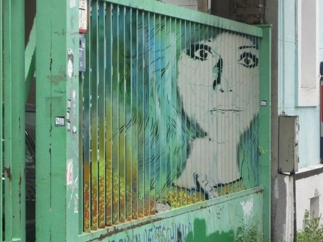 More Hidden Street Art on Railings by Zebrating | Strange days indeed... | Scoop.it
