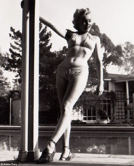 Marilyn Monroe By the Pool | Lazy Palace | Vintage Whatever | Scoop.it