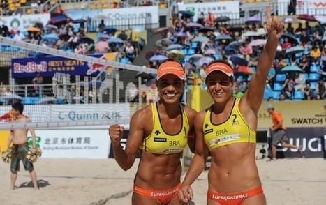 FIVB fecha ranking da praia, e Brasil confirma quatro duplas em Londres   esportes   Scoop.it