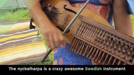 The nyckelharpa is a crazy awesome Swedish instrument - Holy Kaw! | Strange days indeed... | Scoop.it