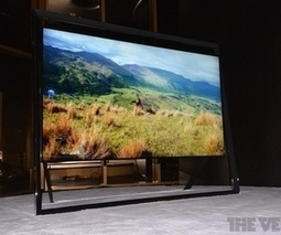 Samsung unveils amazing 85-inch 4K TV with 'floating' design | Great Geeky Gadgets | Scoop.it