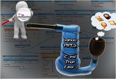 Comment utiliser Yahoo Pipes pour gérer votre veille ? (tuto vidéo) / Le Prince du Web   Time to Learn   Scoop.it