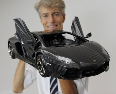 Lamborghini Toy Model 12 Times More Expensive Than the Real Thing : Discovery Channel   Politically Incorrect   Scoop.it