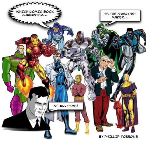 MAKE | Which Comic Book Character Is The Greatest Maker Of All ... | Kids who design, tinker, prototype and create | Scoop.it