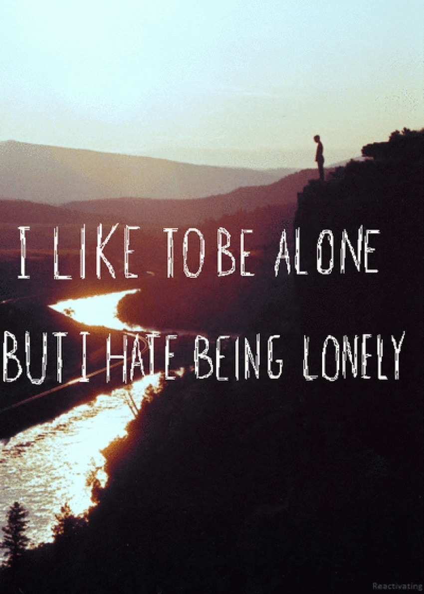 30 Lonely Quotes Feeling Stress And Alone Pic