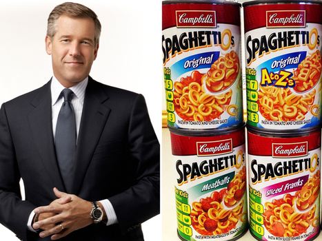 Brian Williams: I grew up on SpaghettiOs and Spam | It's Show Prep for Radio | Scoop.it