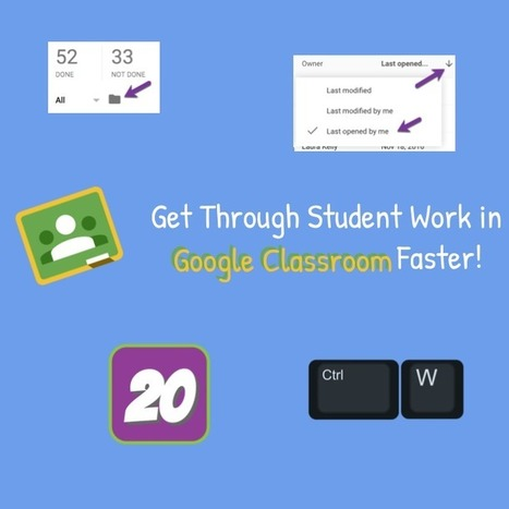 Google Classroom: Assess Student Work FASTER [infographic] - Teacher Tech | Strictly pedagogical | Scoop.it
