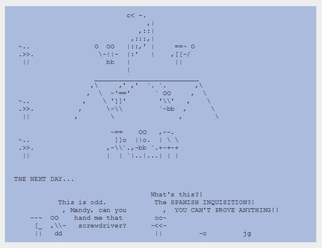 The Adventures of Nerd Boy - Episodes 1-10 | ASCII Art | Scoop.it