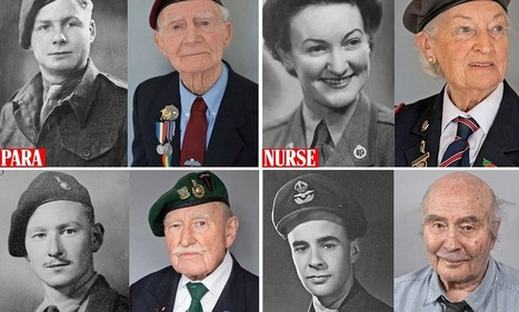 Haunted by the horrors of D-Day: Then and now - the heroes of Overlord | British Genealogy | Scoop.it