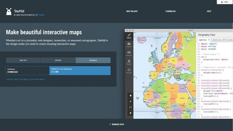 TileMill | Fast and beautiful maps | 21st Century Tools for Teaching-People and Learners | Scoop.it