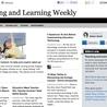 elementary blogging