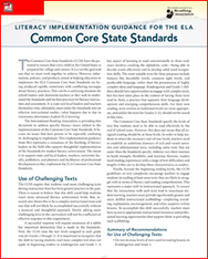Guidelines for Implementing the ELA Common Core Standards - International Reading Association | Tennessee Libraries | Scoop.it