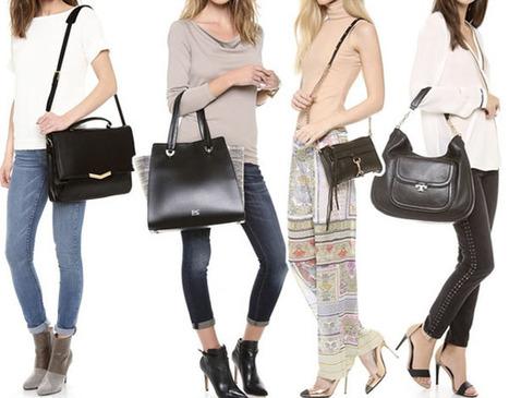 7a6c523418ab3 basic black bag' in Designer Bags | Scoop.it