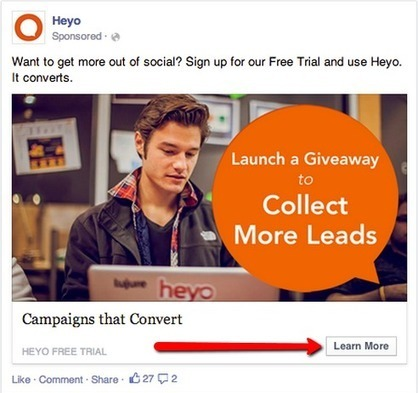 Split Testing the Facebook Call-to-Action Button | Buyer Traffic Generation | Content & Video Marketing | SEO | Scoop.it