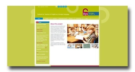 """DysTEFL - """"Dyslexia for Teachers of English as Foreign Language"""" http://www.dystefl.eu/ 