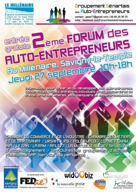 Forum des Auto-Entrepreneurs 27 septembre 2012 | Auto-entreprise | Scoop.it