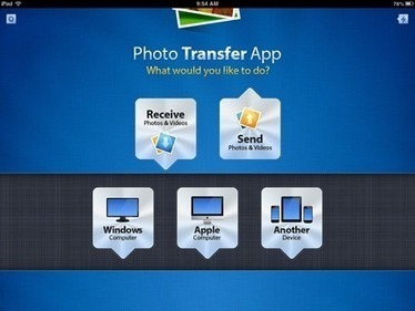 Photo Transfer App – Proving Why It's a Great iPad App this Week | Cool Apps for classroom | Scoop.it