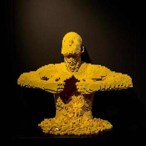 Lego débarque dans le monde très select de l'art contemporain | Art contemporain et culture | Scoop.it