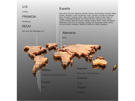 Mapa de sedes de Kfé Innovación.   Empowerment, citizens and change   Scoop.it