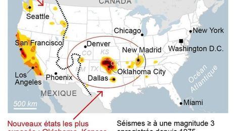 Séisme. La fracturation hydraulique menace 7 millions d'Américains   Charentonneau   Scoop.it