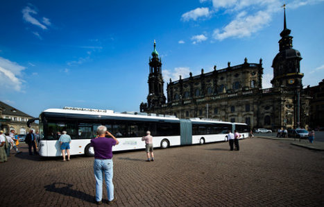 Dresden test drives longest ever bus | No Such Thing As The News | Scoop.it