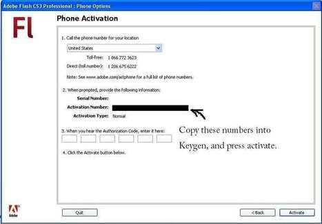 Illustrator cs3 phone activation keygen - iralalar
