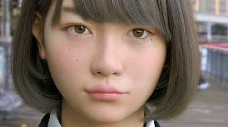 Saya: Big ambitions for Japanese 'digital daughter' - BBC News | Cyborg Lives | Scoop.it