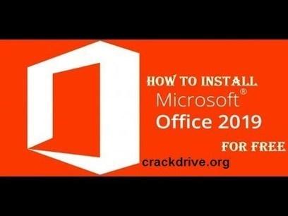 Microsoft Office 2019 Crack + Keygen With Seria
