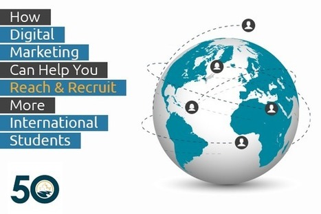 """Don't Miss Our Exclusive CBIE Webinar Next Friday: """"How Digital Marketing Can Help You Reach and Recruit More International Students""""   Content Strategy for Higher Ed   Scoop.it"""