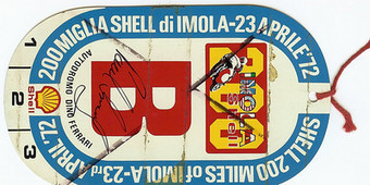 Ductalk History Lesson | Rare Ducati Treasures |  1972 Imola Pit Pass, autographed by race winner Paul Smart | Ductalk Ducati News | Scoop.it