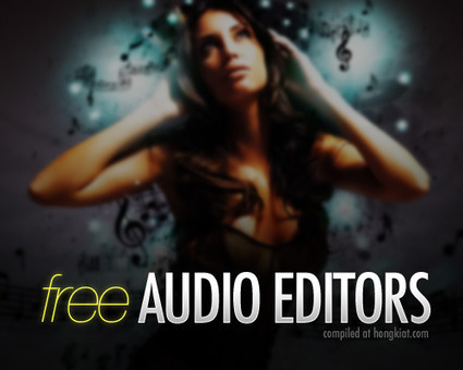 25 Free Digital Audio Editors You Should Know | Common Core for Music Teachers | Scoop.it
