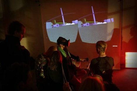 Oculus Rift Installation Lets Bikers Cycle Through Virtual Worlds [Video] - PSFK | Augmented Reality in the Classroom | Scoop.it
