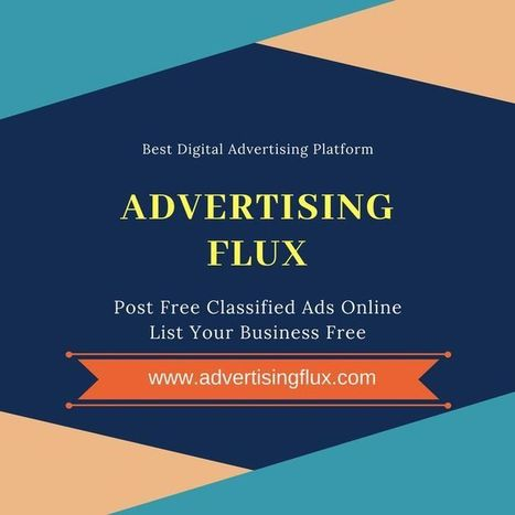 Post Free Ads Online In india' in Advertising Flux - Best Classified
