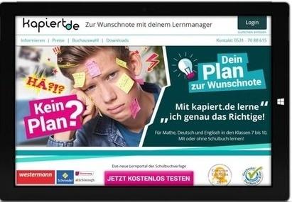 Das Lernportal kapiert.de geht mit den Jahrgängen 9/10 und der passenden ... - bildungsklick.de | Tablet-PC im Unterricht | Scoop.it