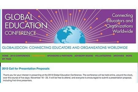 Proposals due November 15 for 2013 Global Education Conference   iEARN in Action   Scoop.it