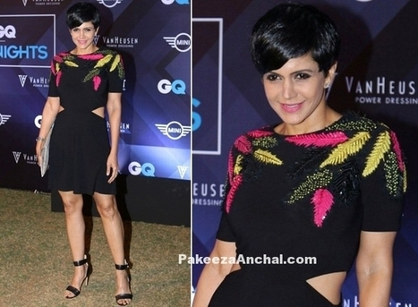 Mandira Bedi in One piece in Van Heusen and GQ Fashion Nights 2016, #ActressInBlackDresses, #ActressInSkirts, #BollywoodActress, #BollywoodDesignerDresses, #CelebrityDresses, #CelebrityShortSkirt, ... | Indian Fashion Updates | Scoop.it