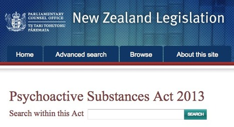 New Zealand Psychoactive Substance Act 2013 unites prohibitionists & drug law reformers - how? | Cannabis & Drug Policy Reform | Scoop.it