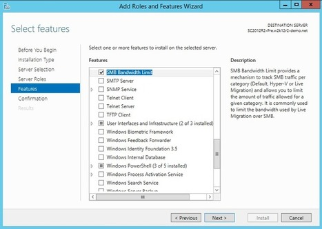 Windows Server 2012 R2 et Stockage – montage d'une plateforme de tests – partie 6 – Limite de bande passante SMB | #Security #InfoSec #CyberSecurity #Sécurité #CyberSécurité #CyberDefence & #DevOps #DevSecOps | Scoop.it
