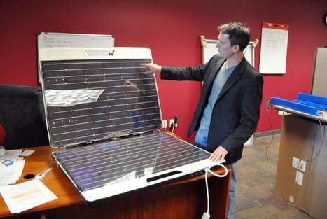 Solar device looks to add outlets to remote spots   Solar Energy projects & Energy Efficiency   Scoop.it