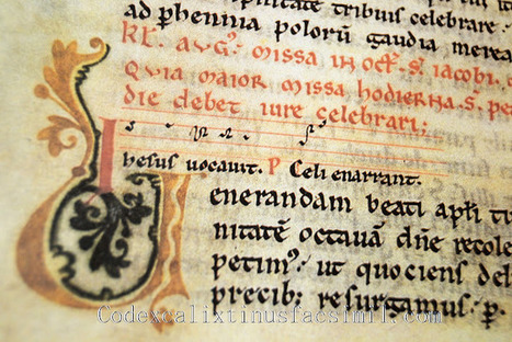 Codex Calixtinus: Kaydeda ediciones y el sueño del Códice Calixtino | Codex Calixtinus | Scoop.it
