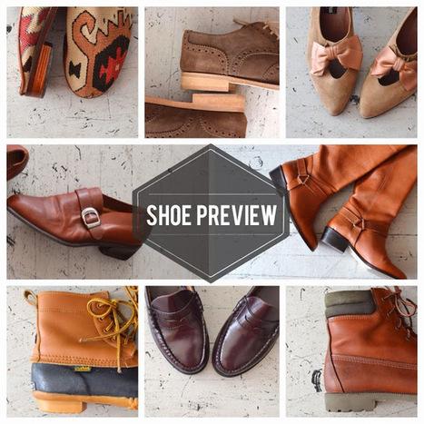 dear golden | vintage: Sneak Peek | Shoes | Vintage Fashionista | Scoop.it