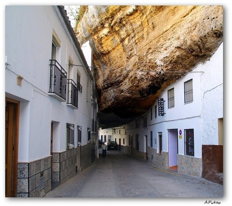 Spain: The rock village, Cadiz | Wicked! | Scoop.it